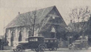 Fraser Church in 1934